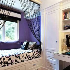 подростковая комната для девочки декор фото