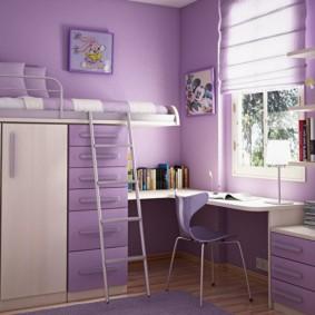 подростковая комната для девочки фото декор
