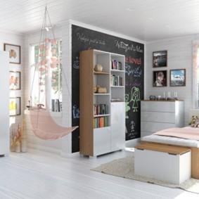 подростковая комната для девочки идеи декор