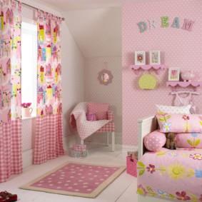 подростковая комната для девочки оформление фото