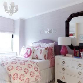 подростковая комната для девочки варианты идеи