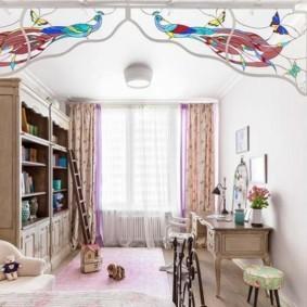 подростковая комната для девочки фото виды