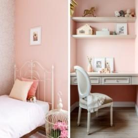подростковая комната для девочки фото видов