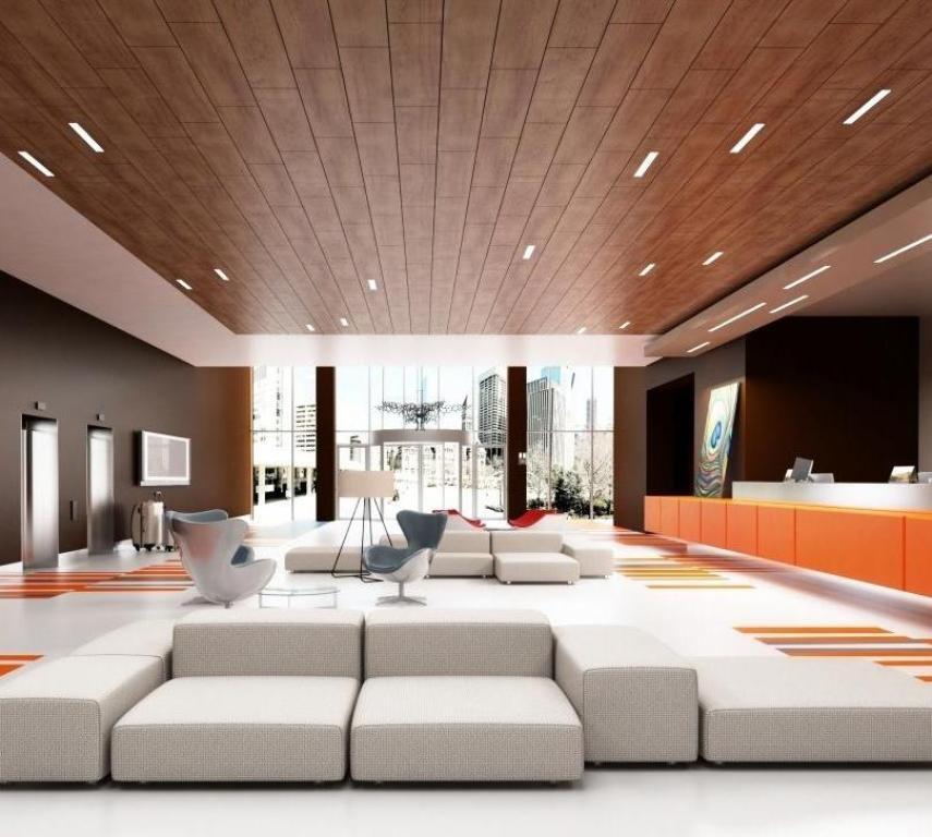 подшивной потолок в гостиной