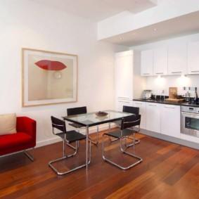 пол из ламината в квартире дизайн фото