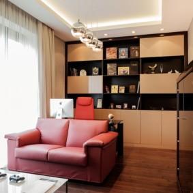 потолок из гипсокартона для гостиной фото варианты