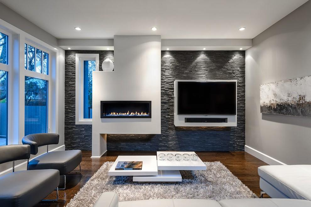 потолок из гипсокартона для гостиной фото дизайн