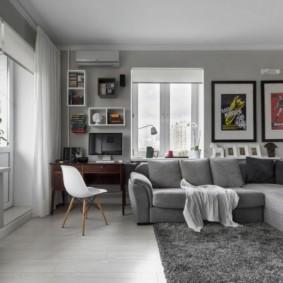 проект трехкомнатной квартиры дизайн идеи