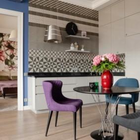 проект трехкомнатной квартиры декор фото