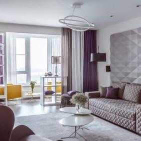 проект трехкомнатной квартиры декор идеи