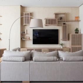 проект трехкомнатной квартиры интерьер