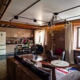 проект трехкомнатной квартиры фото интерьер