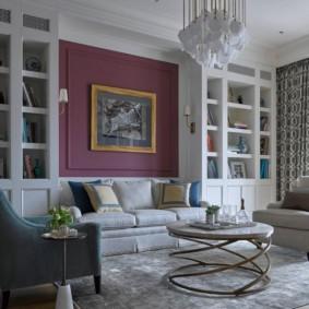 проект трехкомнатной квартиры идеи интерьер