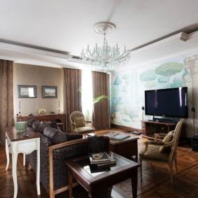 проект трехкомнатной квартиры идеи интерьера