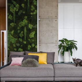 проект трехкомнатной квартиры оформление
