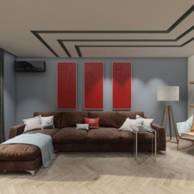 проект трехкомнатной квартиры идеи