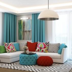 проект трехкомнатной квартиры виды декора