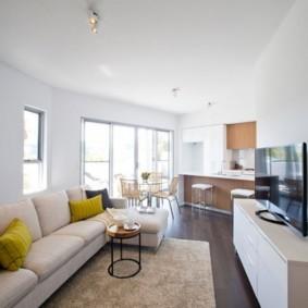 проект трехкомнатной квартиры дизайн