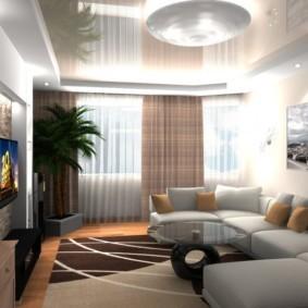 проект трехкомнатной квартиры дизайн фото