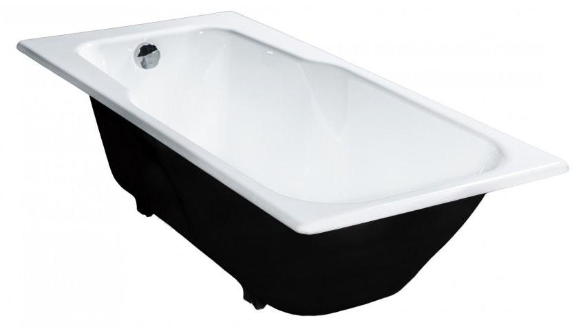 Стандартная чугунная ванна прямоугольной формы