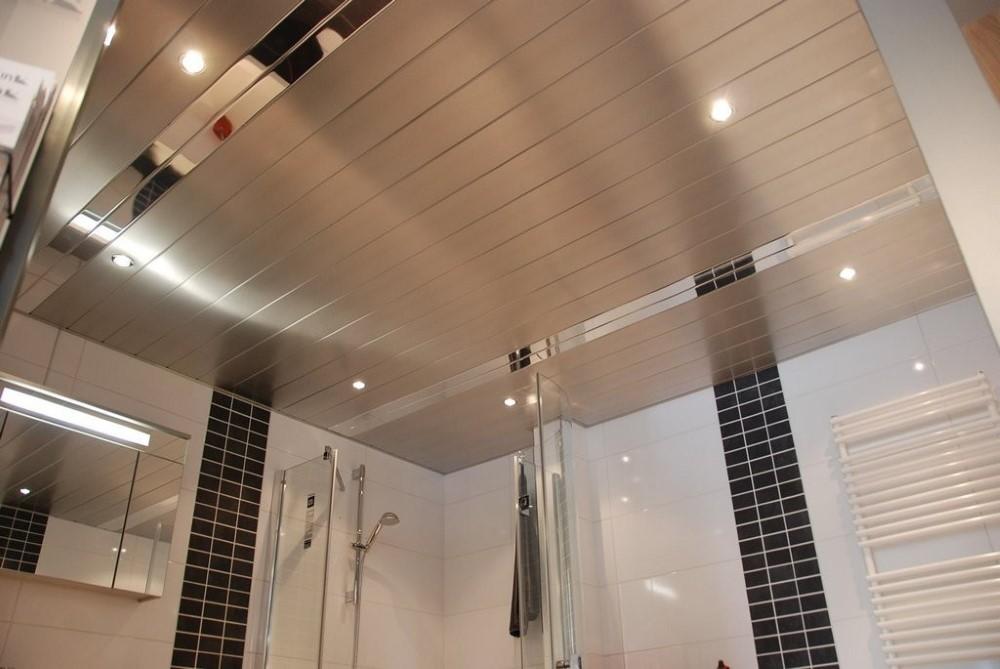 Алюминиевый подвесной потолок реечного типа