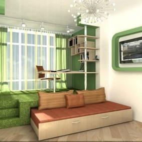 ремонт в маленькой комнате идеи дизайн
