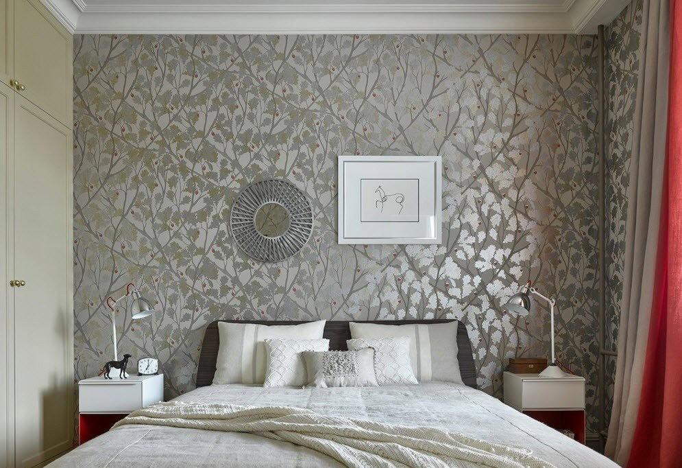 была дизайн обоев для спальни картинки свою красоту