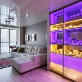 шкаф в гостиную фото дизайн