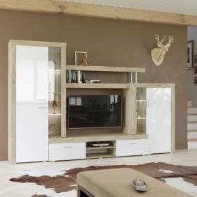 шкаф в гостиную дизайн
