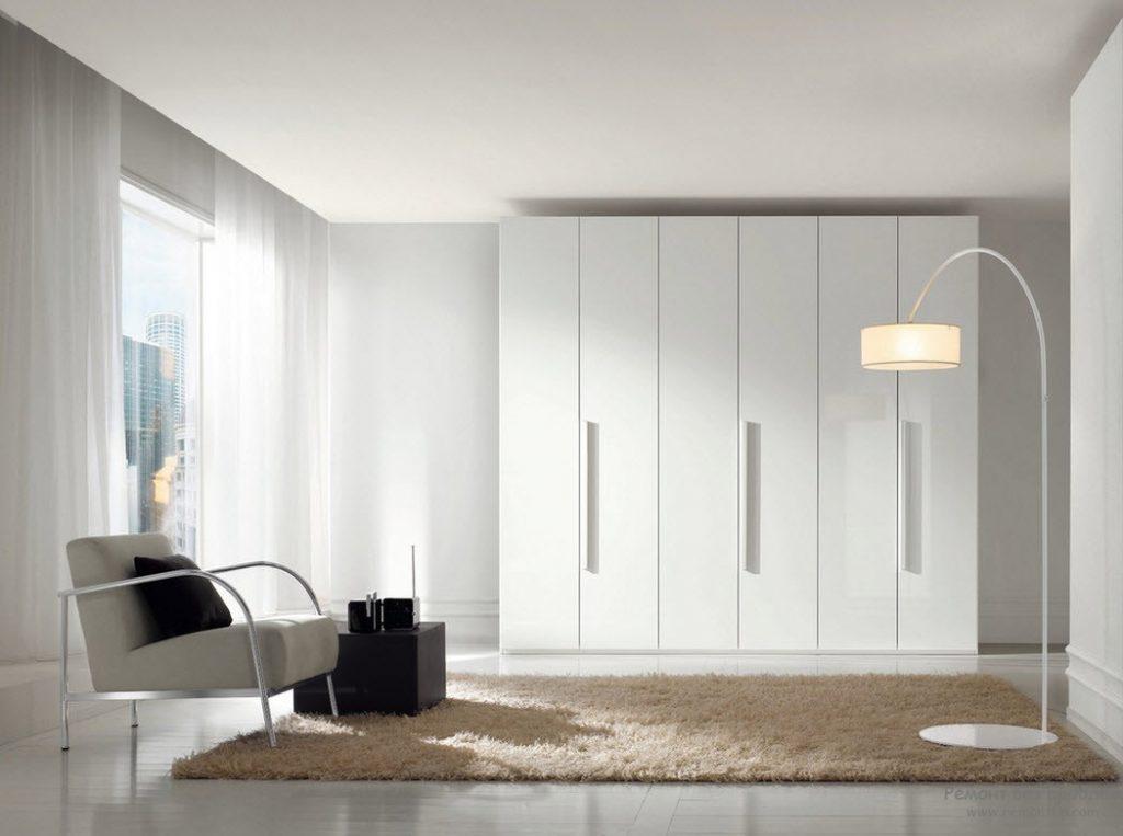 шкаф в гостиную минимализм