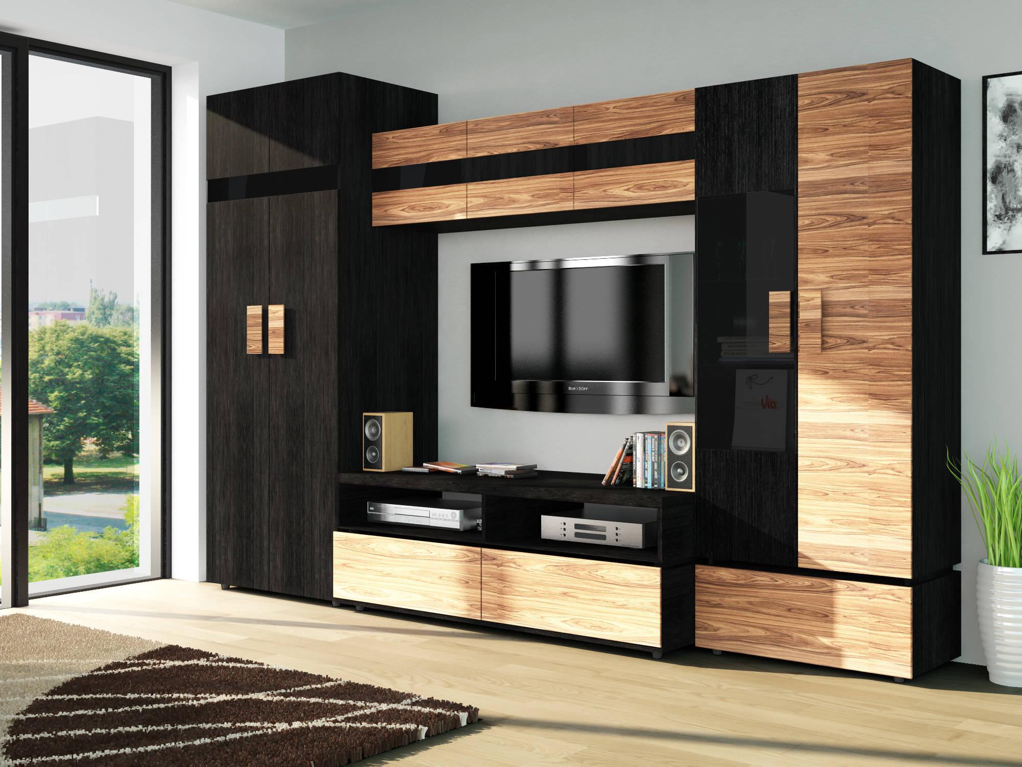 шкаф в гостиную модульная стенка