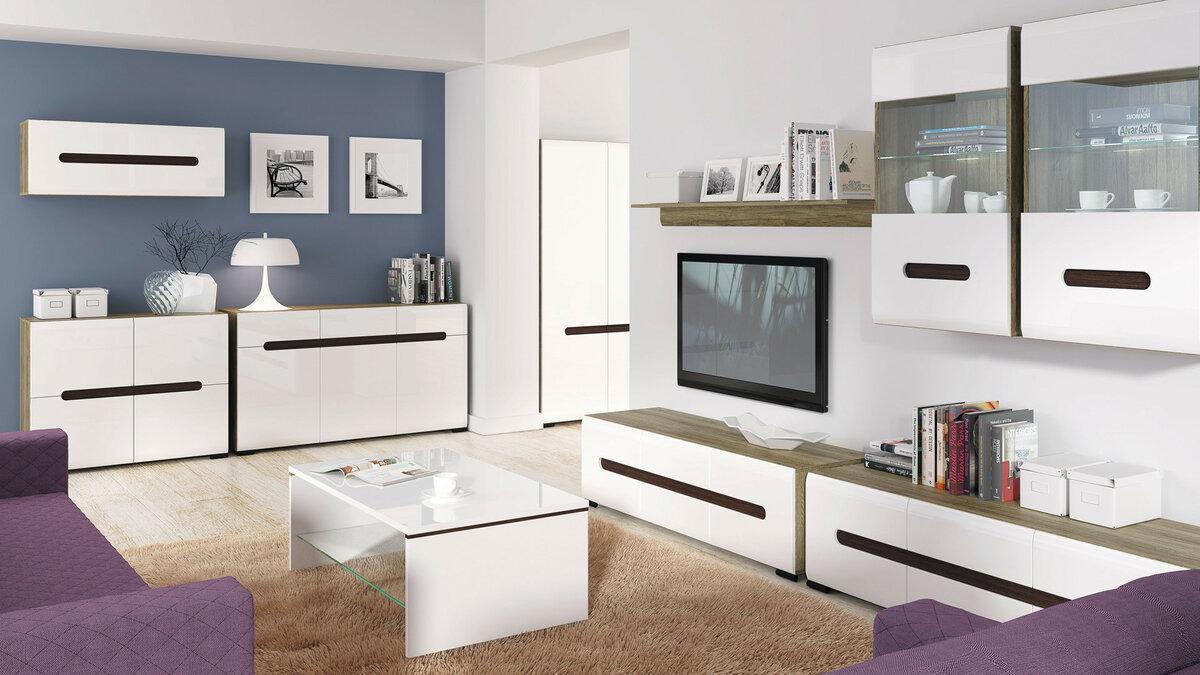 модульные шкафы в гостиной