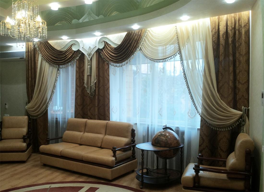 шторы дизайн для зала в картинках тайно пригласила его