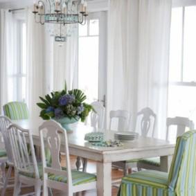 шторы на люверсах в гостиную фото виды