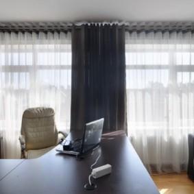 шторы на люверсах в гостиную обзор