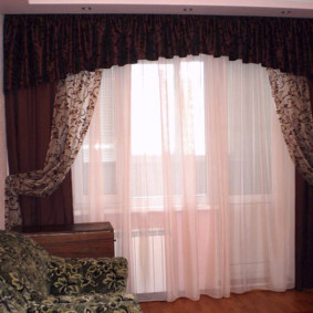 шторы на люверсах в гостиную дизайн идеи