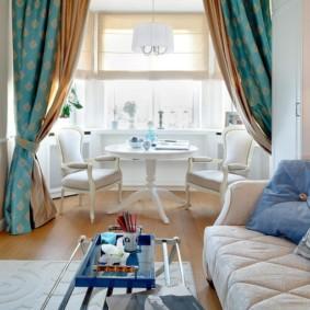 шторы в гостиную дизайн фото