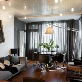 шторы в гостиной фото декор