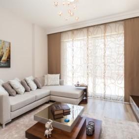 шторы в гостиную фото декора