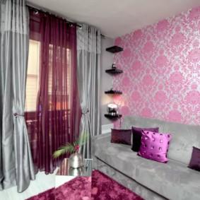 шторы в гостиную идеи оформление