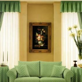 шторы в зал на два окна идеи виды
