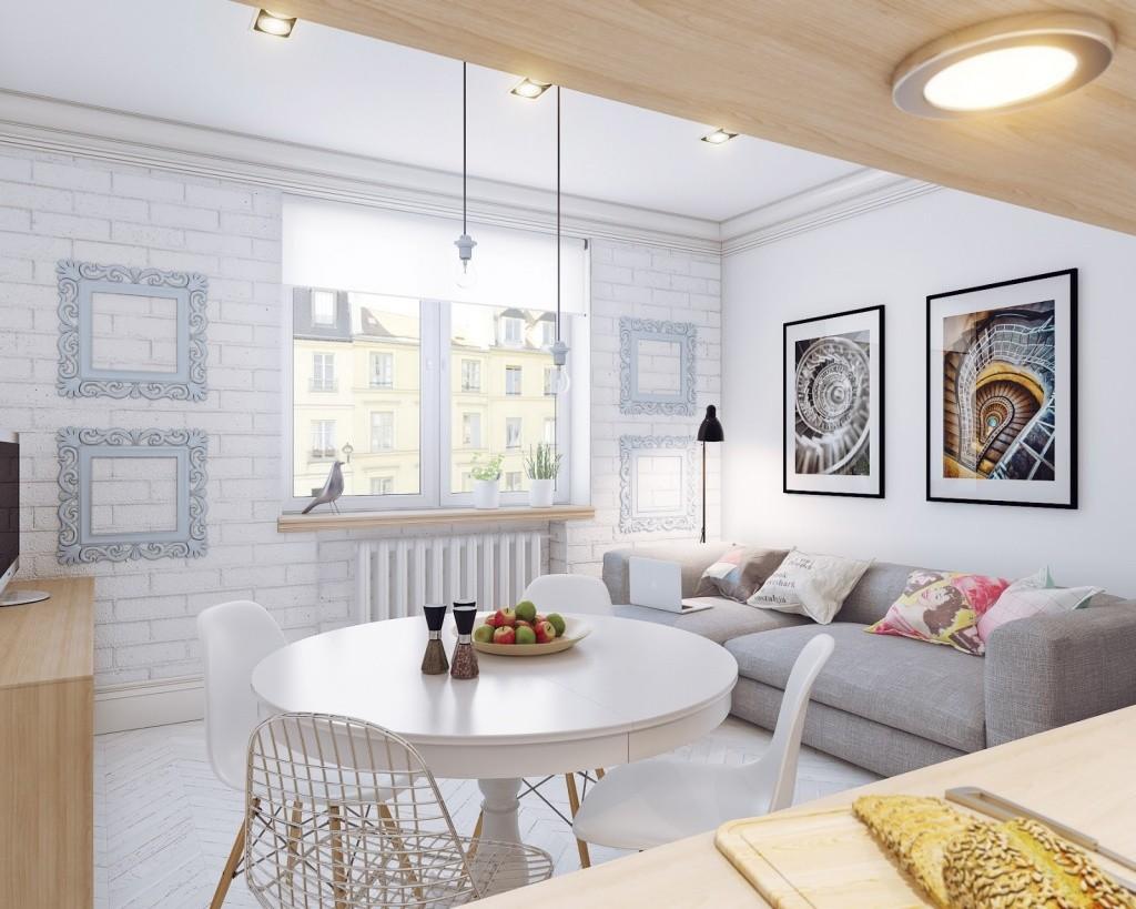 скандинавский стиль квартиры