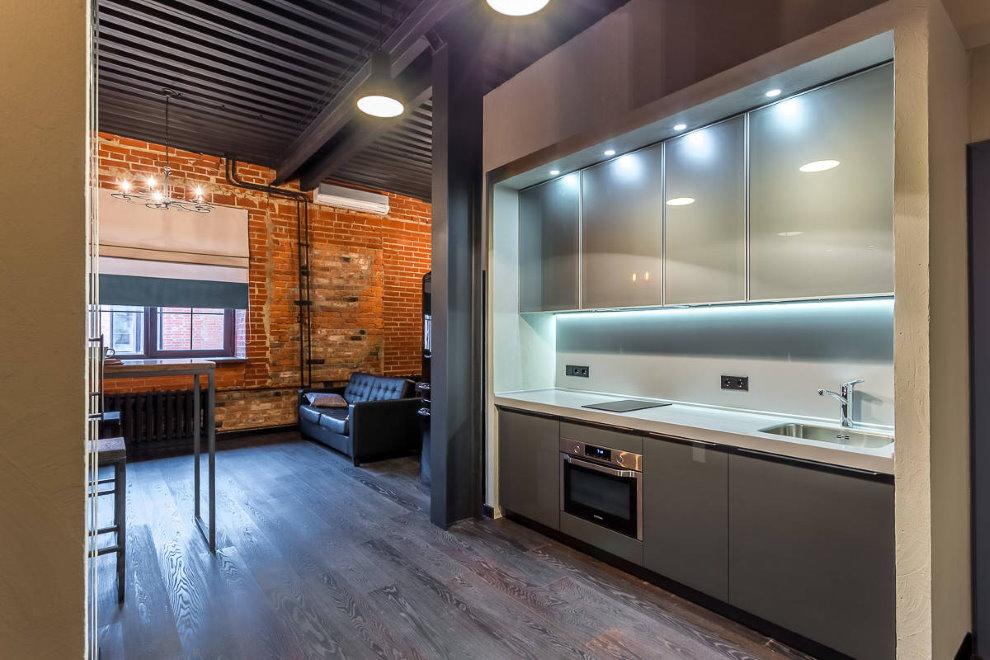 Интерьер квартиры площадью 60 кв м в смешанном стиле