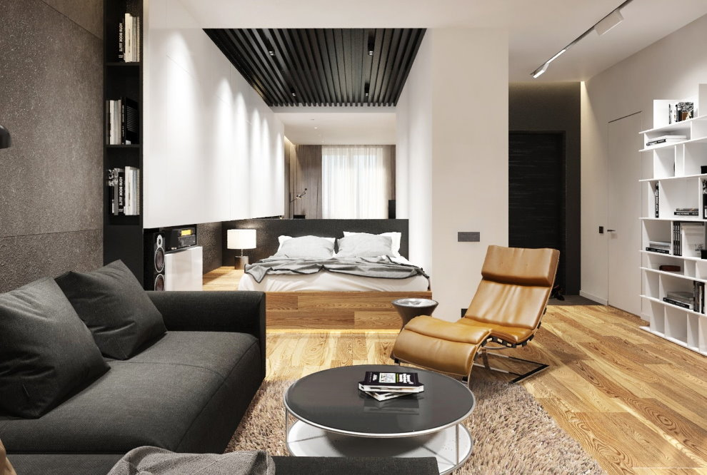 Дизайн квартиры 36 кв м в современном стиле
