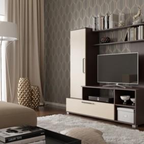 современная стенка под телевизор