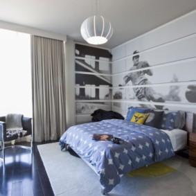современные фотообои в квартире идеи интерьер