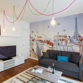 современные фотообои в квартире идеи виды