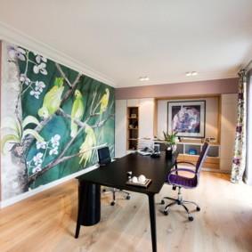 современные обои в квартире идеи декор