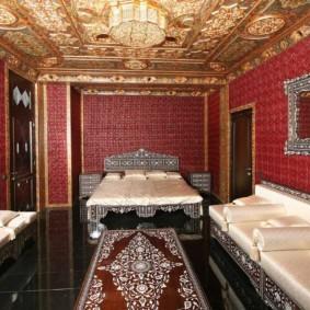 интерьер комнаты в восточном стиле идеи дизайна