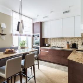 кухня в стиле современный минимализм
